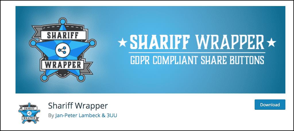 Shariff wrapper plugin