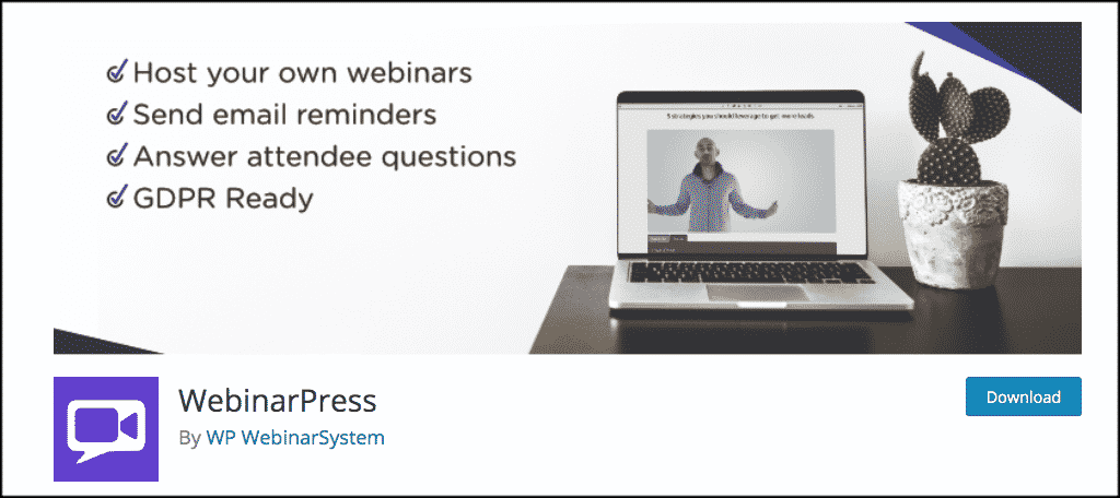 WebinarPress plugin