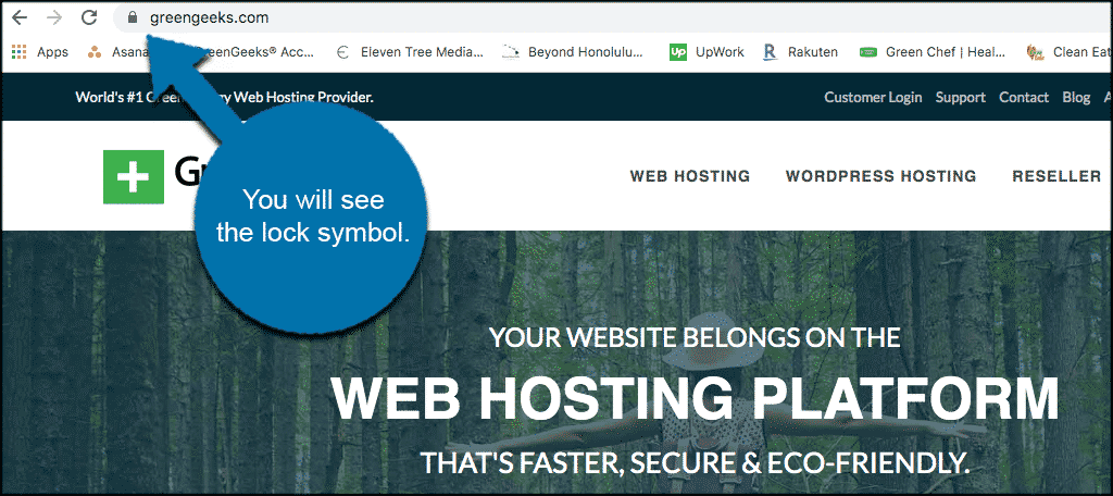 Click on lock symbol