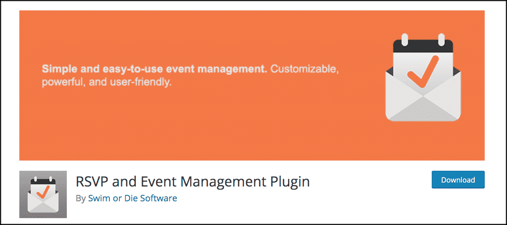 RSVP and event management