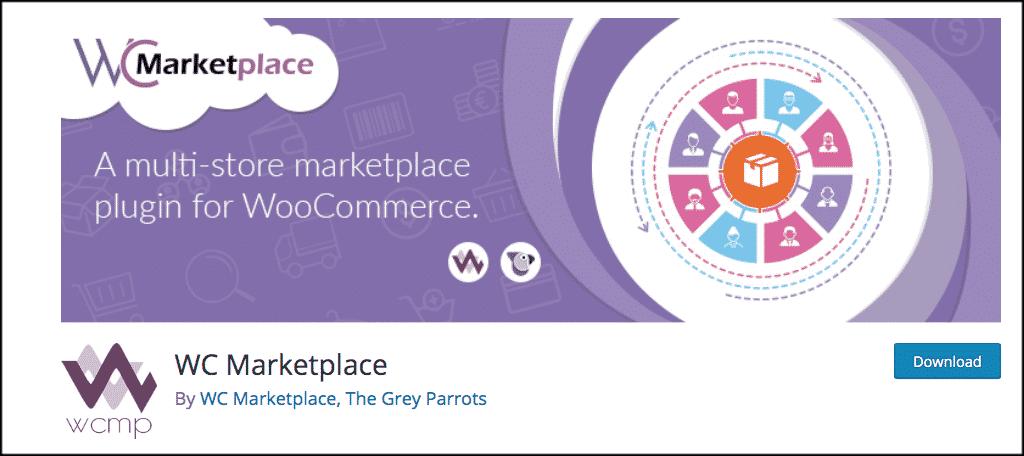 WC Marketplace plugin