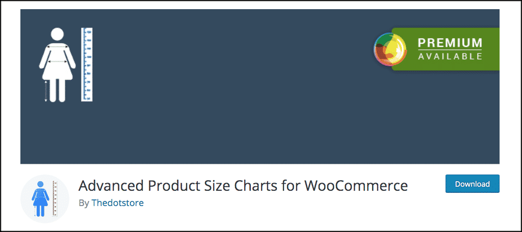 Advanced Product Size Charts for WooCommerce