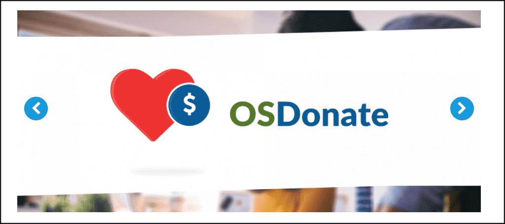 OSDonate extension