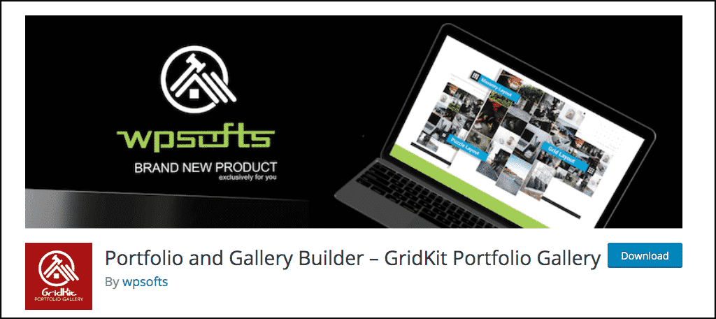 Portfolio gallery builder