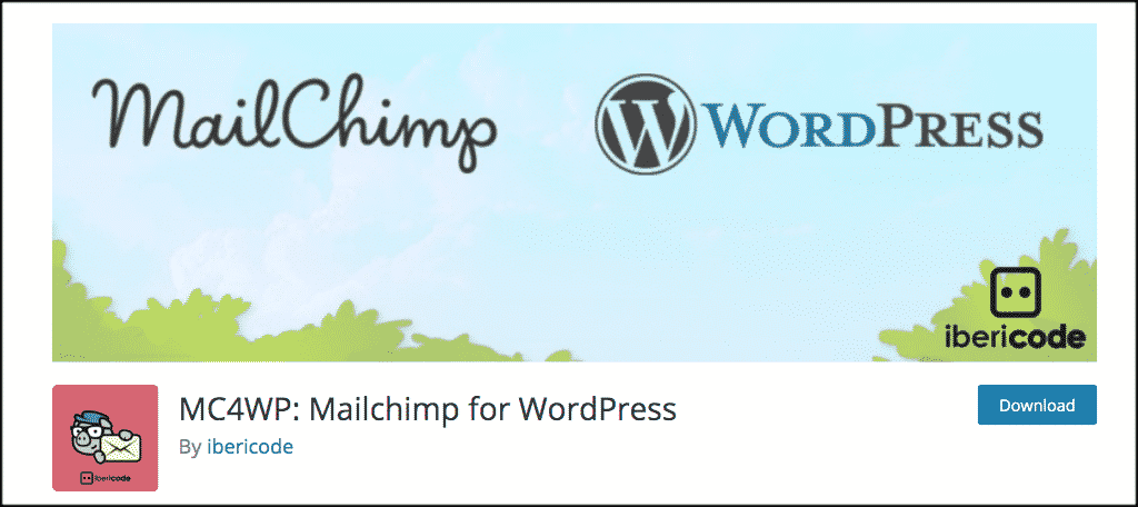 Mailchimp plugin for ecommerce website