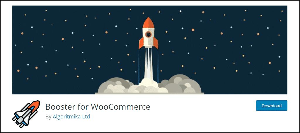 Booster for WooCommerce WordPress plugin