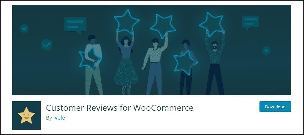Customer Reviews for WooCommerce WordPress plugin