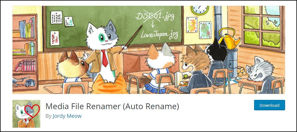Media File Renamer plugin