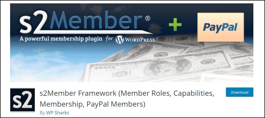 S2Member WordPress plugin