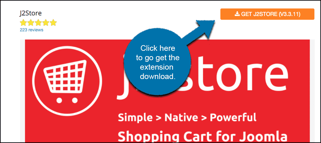 INstall and activate shopping cart