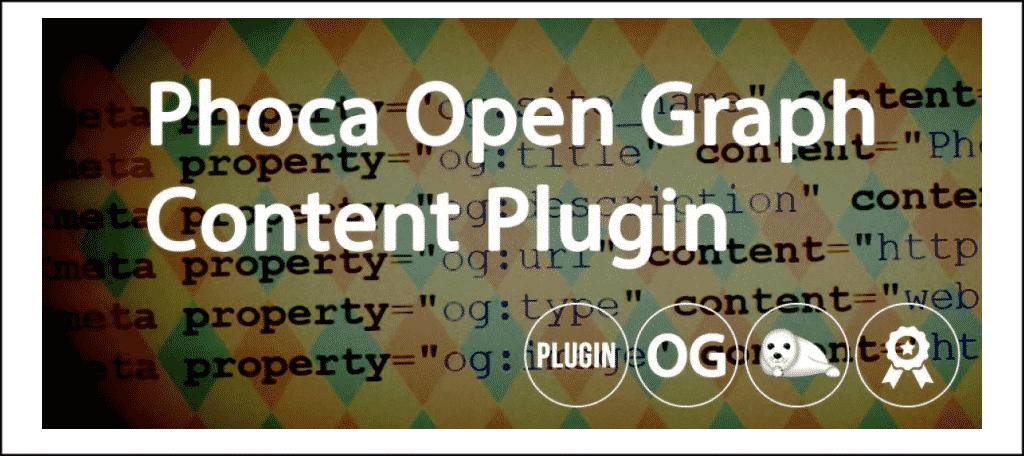 Phoca open graph extension