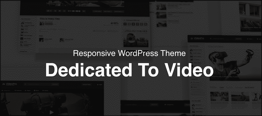 Video Pro WordPress Theme