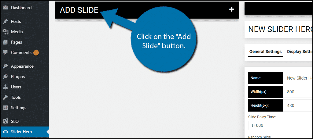 Add Slide