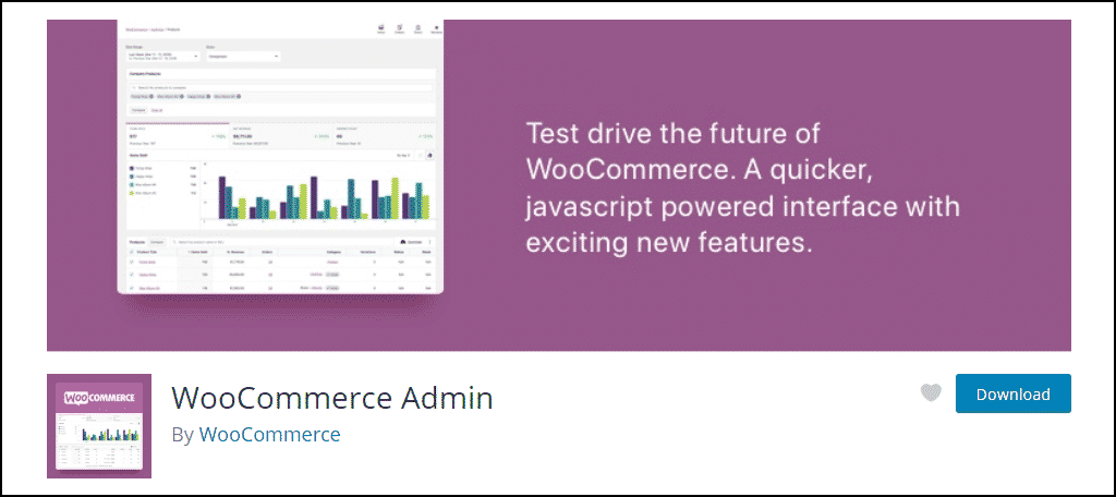 WooCommerce Admin WordPress plugin