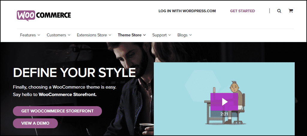 WooCommerce Storefront WordPress theme