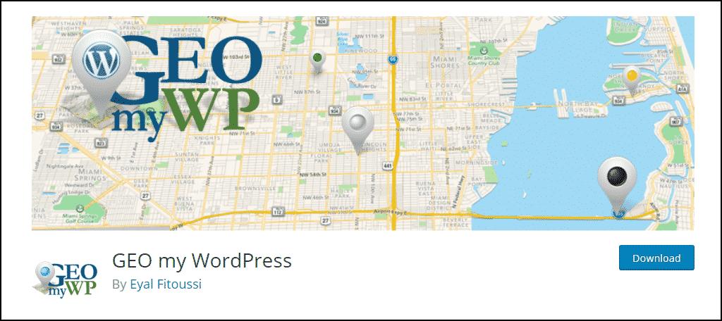 GEO my WordPress plugin