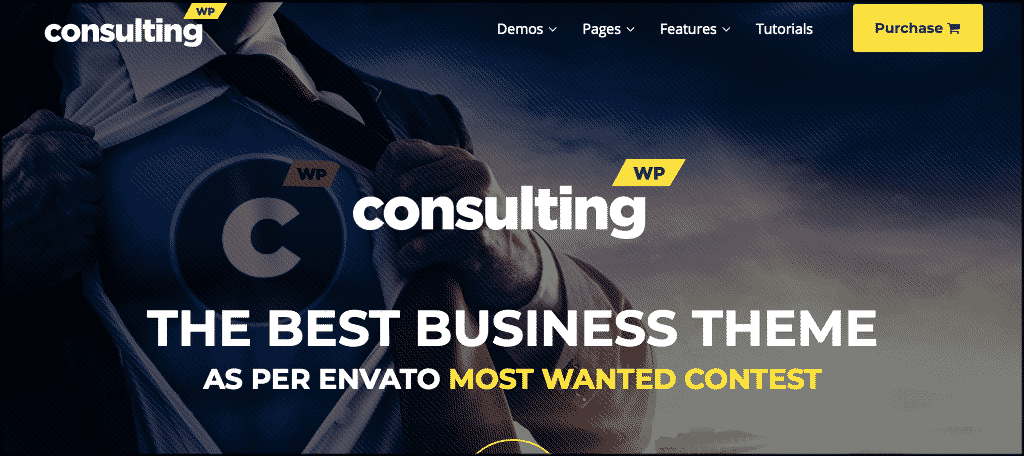 Consulting theme to set up a business blog