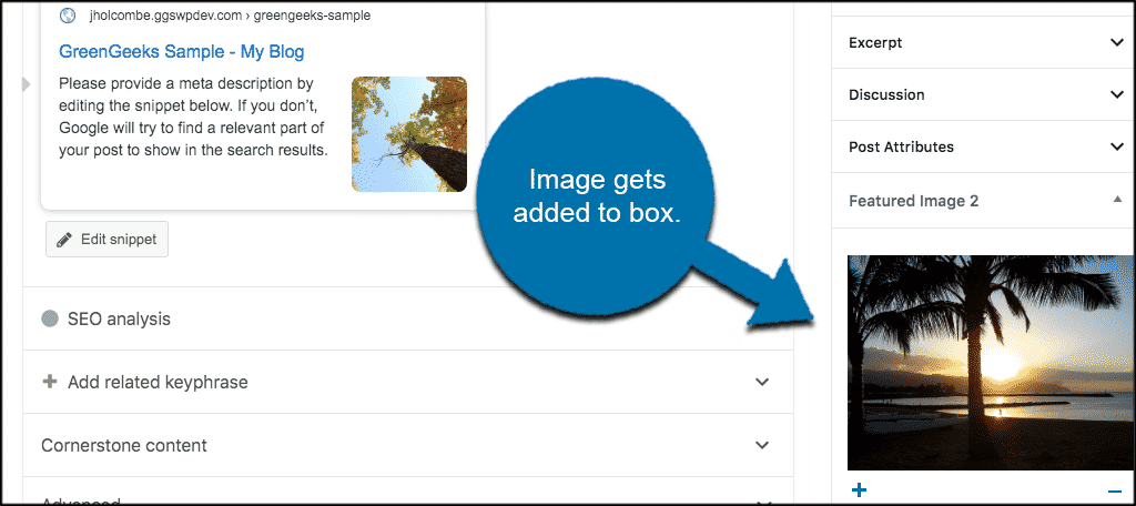 Image gets automatically added