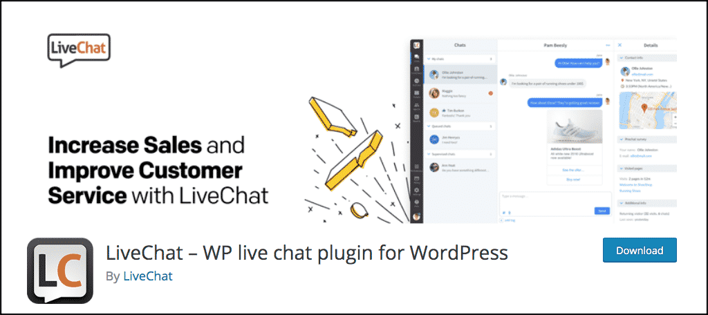 LiveChat plugin