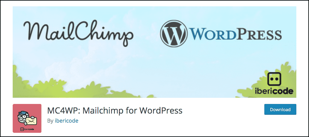 MailChimp for WordPress plugin