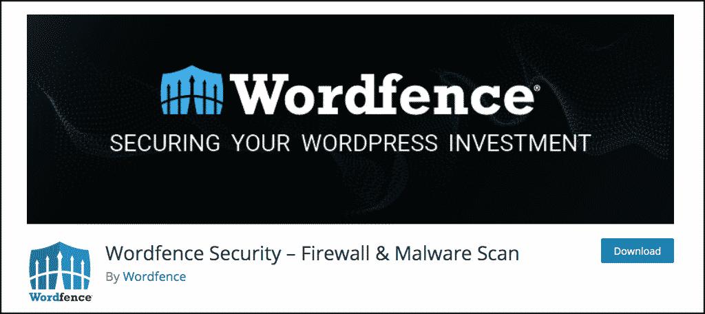 Wordfence plugin for dynamic websites