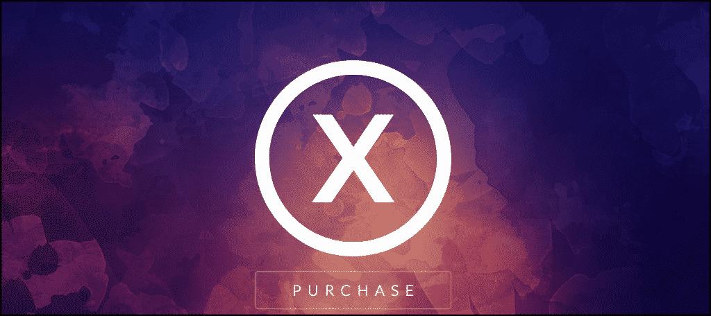 X theme dynamic website