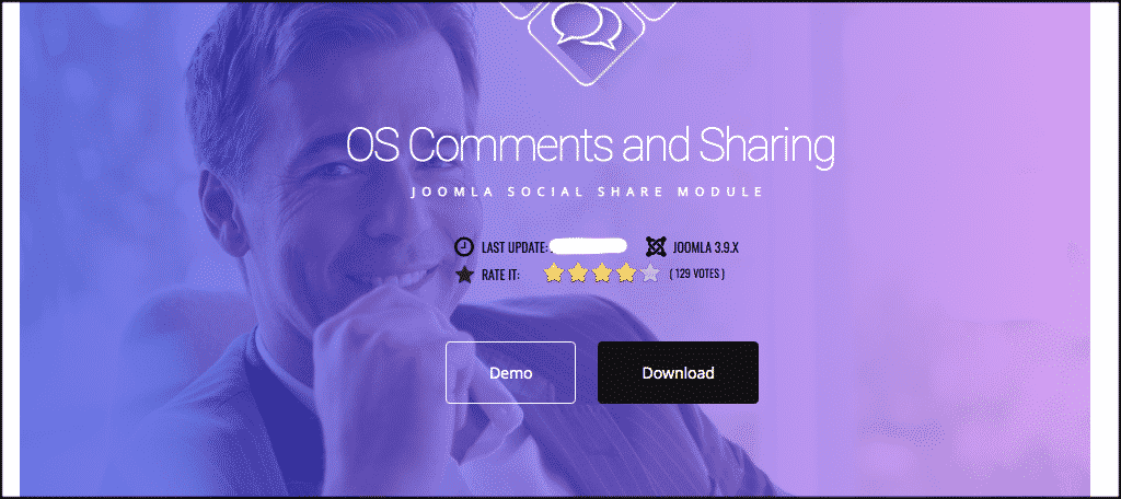 Download social comments for joomla