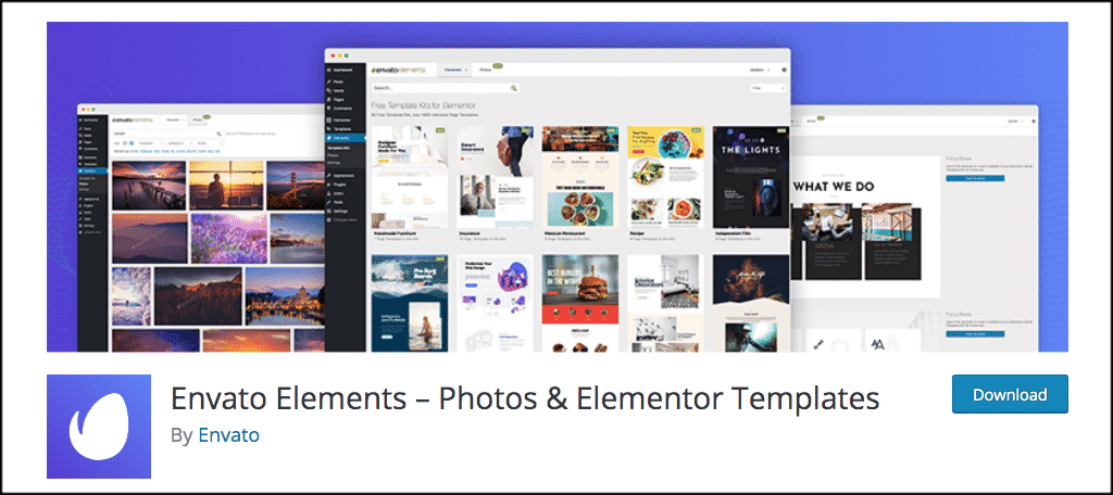 Envato Elements plugin