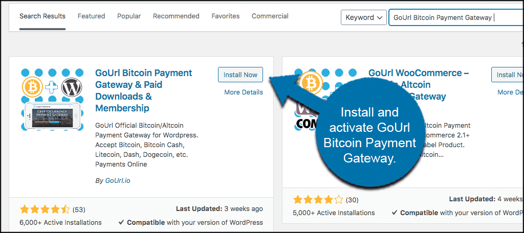 go url bitcoins