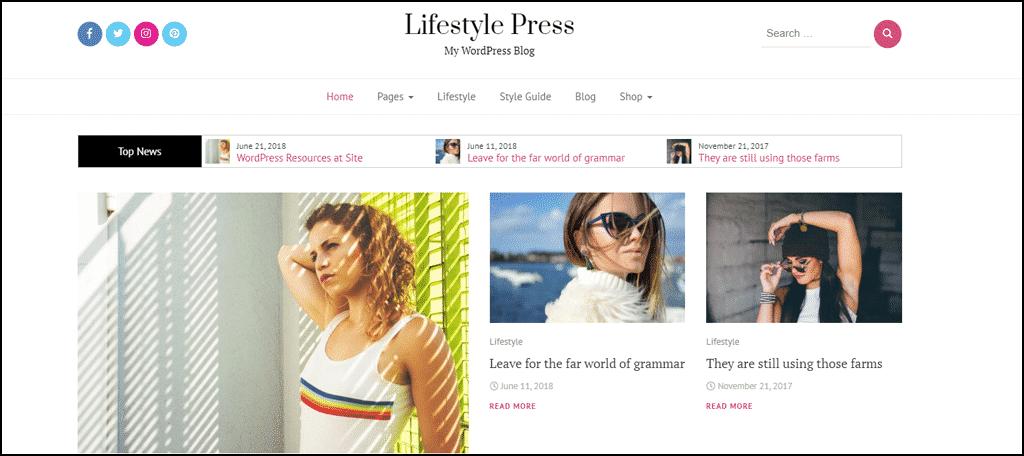 Lifestyle Press