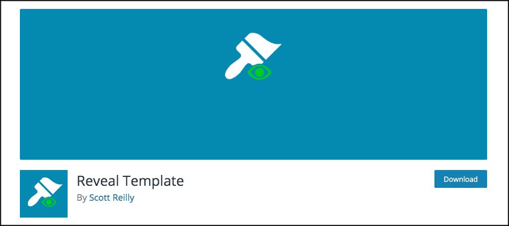 Reveal Template plugin