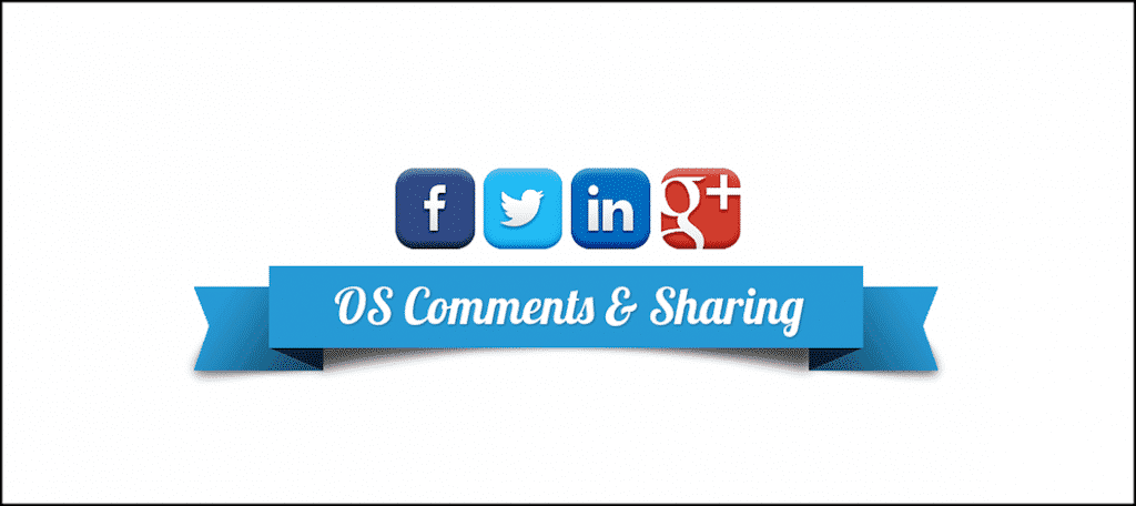 Social Comments and Sharing extension