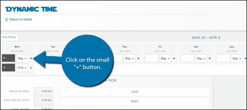 + Button