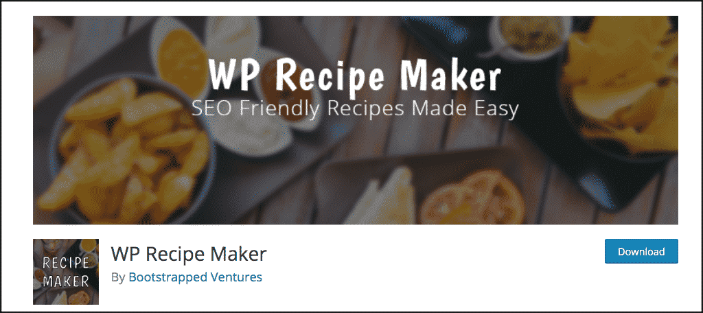 WP Recipe maker plugin for mom blogs