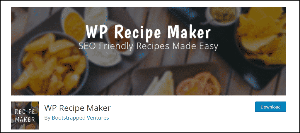 WP Recipe Maker WordPress theme
