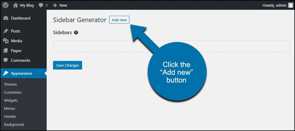 """click the """"Add New"""" button"""