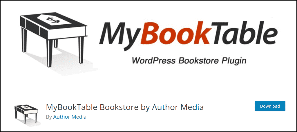 MyBookTable Bookstore WordPress plugin