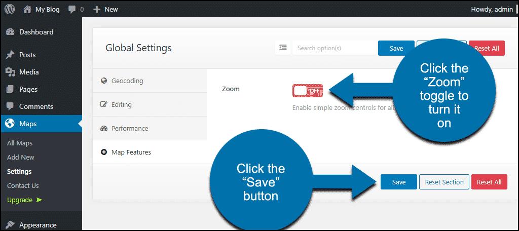 """click """"Zoom"""" click """"Save"""""""