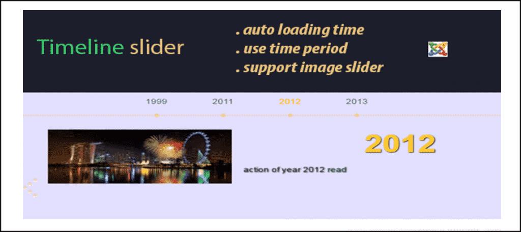 Timeline Slider Extension