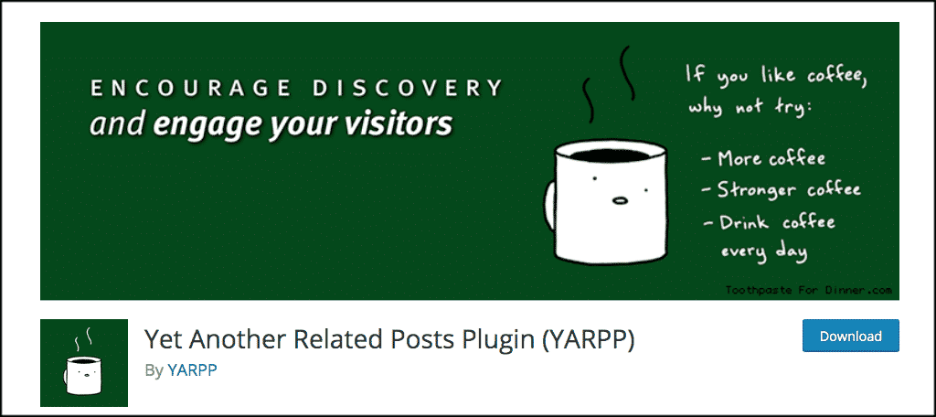 YARPP plugin for advice blog