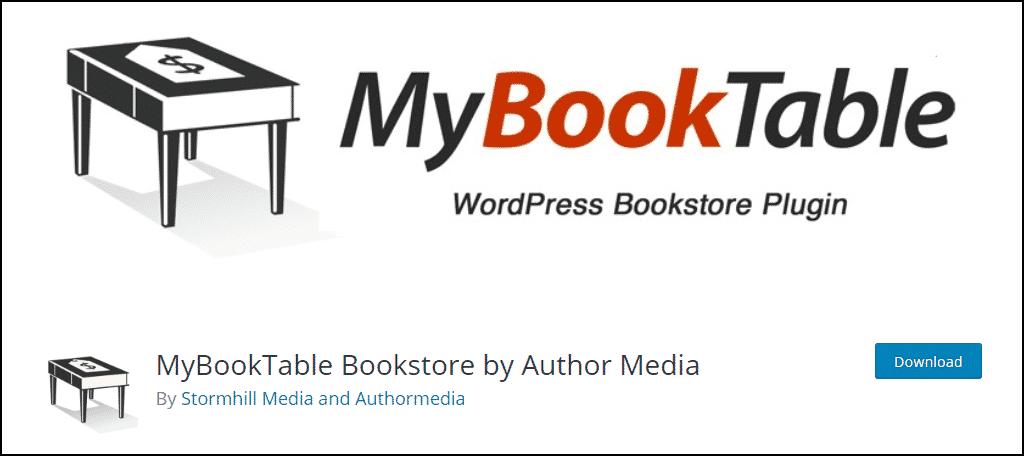 MyBookTable WordPress plugin