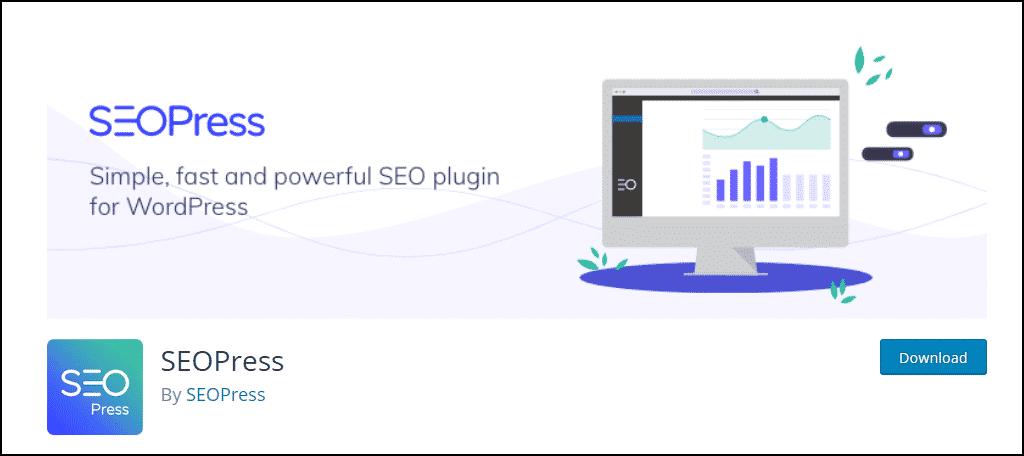 SEOPress WordPress plugin