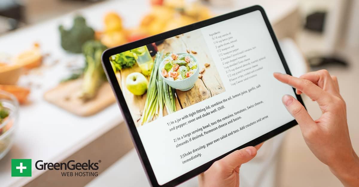 Make a Recipe Blog
