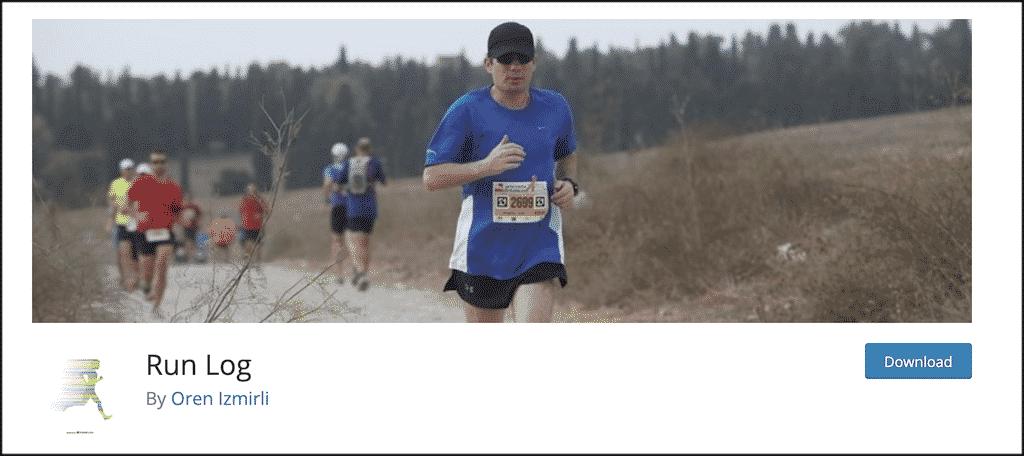 Run Log plugin for running blog