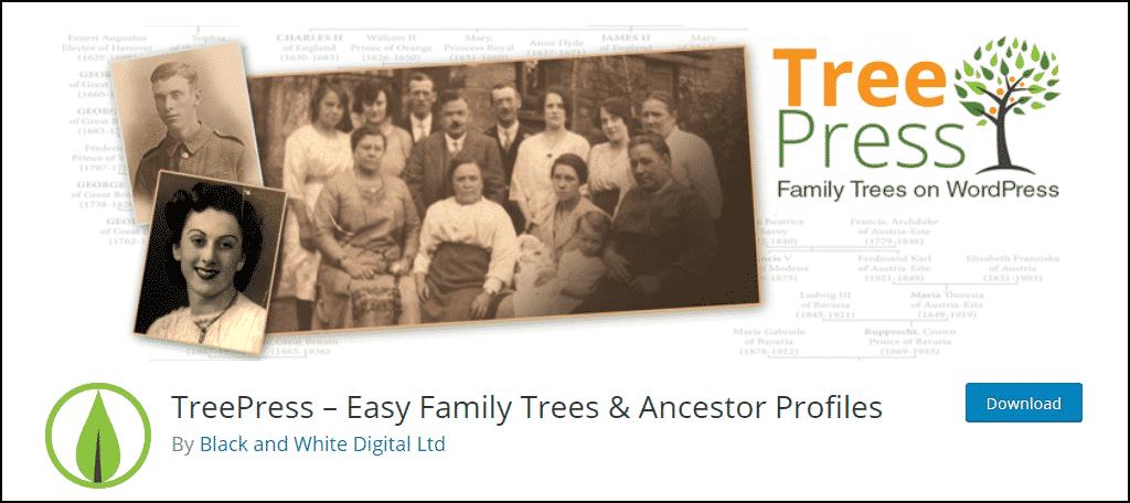TreePress WordPress plugin