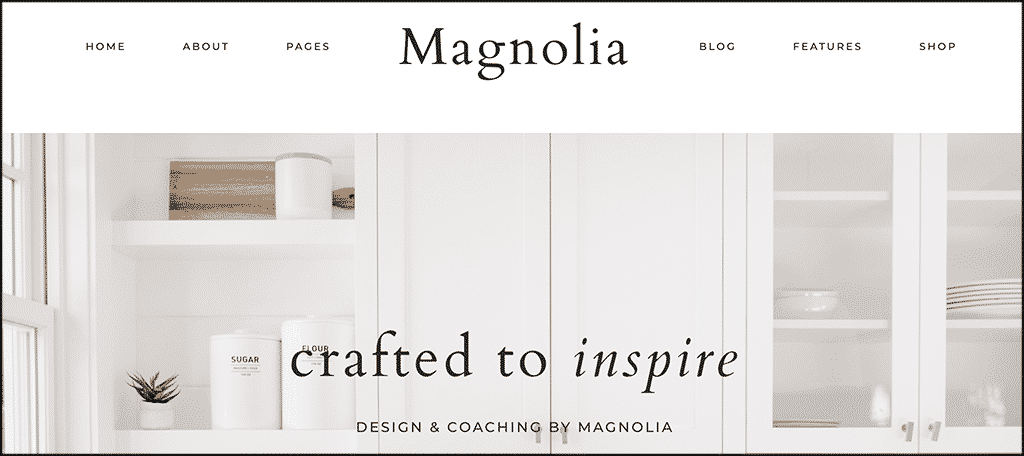 Magnolia wordpress theme