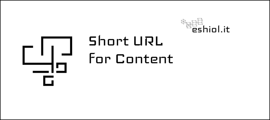 Short URL for Content Extension