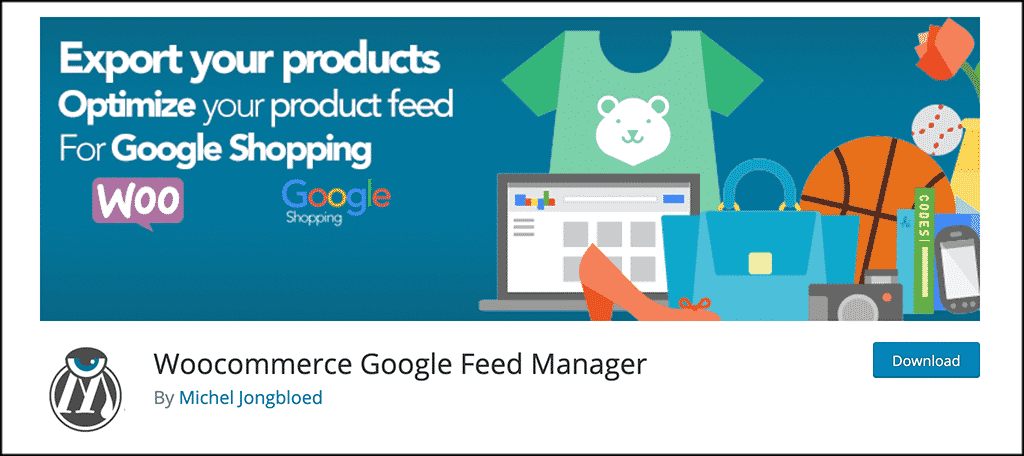 Google feed manager plugin