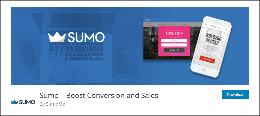 Sumo WordPress plugin