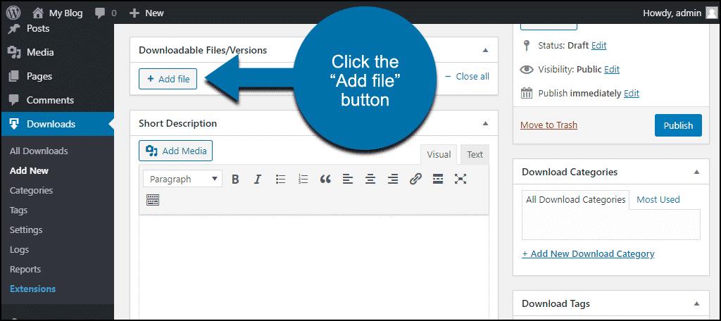 """click the """"Add File"""" button"""